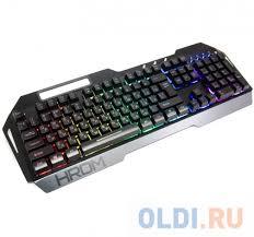 <b>Клавиатура QCYBER</b> HROM Black USB — купить по лучшей цене ...