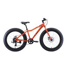 Купить <b>Велосипед STARK Rocket Fat</b> 24.2 D (оранжевый/серый ...