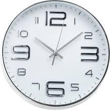 <b>Настенные часы</b> INNOVA W09642 Silver/<b>White</b> - купить <b>часы</b> и ...