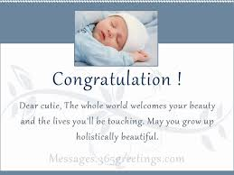 New Born Baby Wishes Messages, Greetings and Wishes - Messages ...