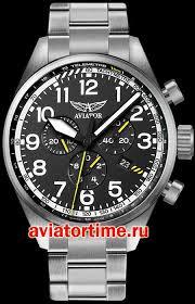 Швейцарские наручные мужские <b>часы AVIATOR V</b>.<b>2.25.0.169.5</b> ...