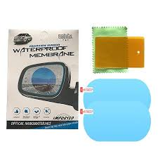 Car <b>Rearview Mirror Film</b> Anti-Fog Membrane <b>Waterproof</b> Rainproof ...