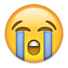 Resultado de imagen de emoticon whatsapp lagrima