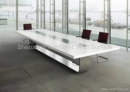 artificial stone solid surface pure acrylic conference table 1 acrylic office furniture