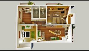 Small Picture Bedroom House Plans Designs 3D Small Housejpg 3 Bedroom House