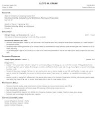 architecture and engineering resume samples