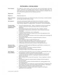 catering resume objective examples cipanewsletter catering s resume catering server job description resume