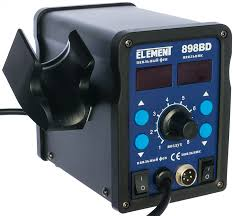 <b>Паяльная станция</b>, фен+паяльник <b>ELEMENT 898BD</b> 15297 - цена ...