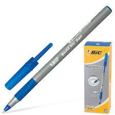 """Купить <b>Ручка шариковая</b> с грипом <b>BIC</b> """"<b>Round</b> Stic Exact"""", СИНЯЯ ..."""