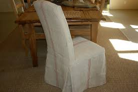 grain sack dining chairs