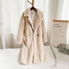 Faux Fur Coat <b>Women</b> Autumn <b>Winter</b> Fluffy 2019 <b>Plush Coat</b> ...