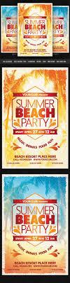 17 best images about flyers promotion party flyer summer beach party flyer