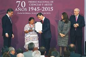 Image result for premio nacional de ciencias y artes 2015