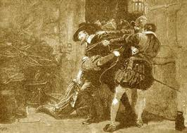 Image result for guy fawkes gunpowder plot