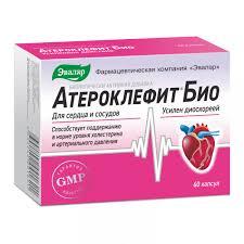 <b>Атероклефит био</b> 250мг <b>капс</b>. №60 по цене от 429.09 руб в Уфе ...