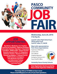 pasco community job fair food and nutrition services job fair community 2016 revised