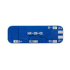 Diymore 5pcs <b>3S</b> BMS Module <b>12V 10A 18650</b> BMS Charger ...