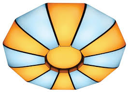 <b>Светильник</b> светодиодный <b>Ambrella light</b> FP2312 WH <b>210W</b> D740 ...