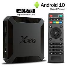 <b>X96Q Android 10.0</b> Smart TV BOX 2GB 16GB Allwinner H313 Quad ...
