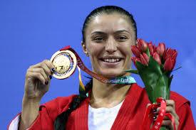 Российская самбистка Яна <b>Костенко</b> стала трехкратной ...