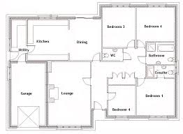 Four Bedroom House Plans   Four Bedroom Homes For Rent   Four    FREE HOME PLANS BEDROOM HOUSE PLANS For Four Bedroom House Plans