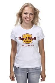 <b>Футболка классическая Стена</b> Марии (Атака Титанов) #1498241 ...