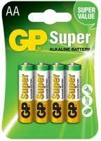 <b>GP Super</b> Alkaline 4xAA – купить батарейка, сравнение цен ...