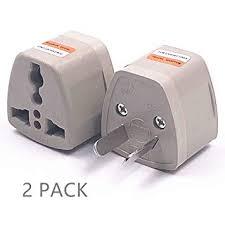 2 Packs High Performance Universal <b>AU</b>/<b>CN</b> Adapter Travel <b>Power</b> ...