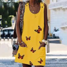 Trendy Fashion Temperament <b>Strap Dress Summer</b> Casual Outdoor ...