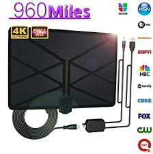 Tenrry 960 Mile Range Antenna TV Digital 4K HD ... - Amazon.com