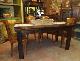 dining chairs room rustic image of rustic dining room arm chairs