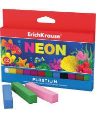 Пластилин 12цв <b>Erich Krause</b> Neon со стеком