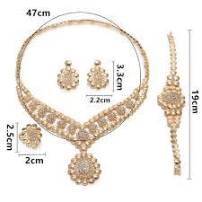 <b>MUKUN 2019 Exquisite Dubai</b> Gold Jewelry Set Brand Nigerian ...