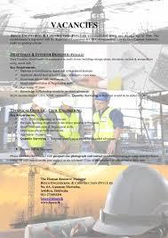 technical officer civil engineer besco engineering latest jobs best job site in sri lanka cv lk