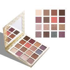 16 Colors Flashing Board Style <b>Eye Shadow Makeup Palette</b> ...