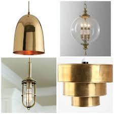 brass pendant ceiling light round up brass pendant lighting