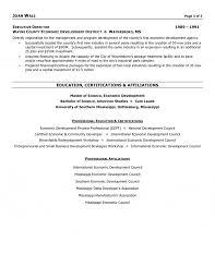 profit executive resume non profit executive resume