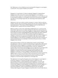 diplomacy and deterrence essay