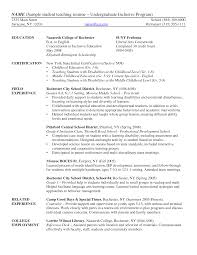 resume samples for college undergraduates college resume  sample