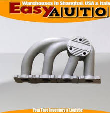 <b>Exhaust MANIFOLD fit</b> for V*W 1.8T K04 OEM Upgrad STAINLESS ...