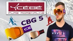 <b>Cebe</b>. Origins L CBG5 Обзор <b>горнолыжной маски</b>. - YouTube