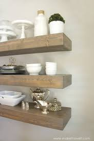 how to build simple floating shelves for any room in the house build floating shelves