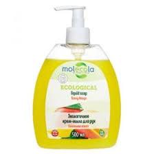 Жидкое <b>мыло для рук Molecola</b> Манго экологичное 500 мл ...