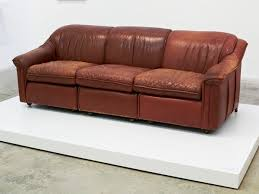 jennifer rubell my shrinks couch 2012 leather couch wood latex paint can you paint leather furniture