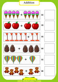 Kids Under 7: Addition WorksheetsFree addition worksheets. Print out these free worksheets to help your kids learn basic addition skills. These fun themes make learning addition fun for a ...