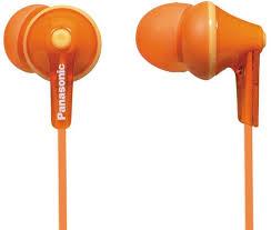 <b>Наушники Panasonic RP-HJE125</b> orange — купить по лучшей ...
