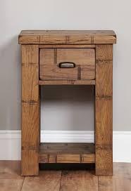 baumhaus heyford rough sawn oak lamp table baumhaus wine rack lamp table