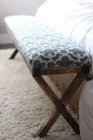 x contemporary bedroom benches: ive wanted a bench for the end of our bed for what seems like forever but they were always too short too wide ugly pattern etc