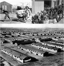 asian american journalists association a timeline of the chin case left a group of ese evacuees moving into this war relocation authority center in manzanar