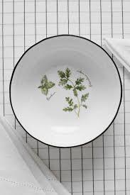 <b>Тарелка суповая</b> из фарфора herbarium 18 см <b>Easy</b> Life - цена ...